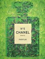 Chanel No5 IV by Richard Zarzi - Original on Canvas sized 32x42 inches. Available from Whitewall Galleries